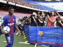 Dembélé zieht in die Nähe des Estadio Camp Nou