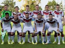 Die deutschen U17-Junioren sind Gruppensieger in der EM-Qualifikation