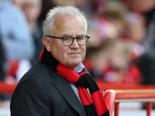 Präsident Fritz Keller freut sich auf das neue Stadion