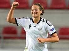 Lena Lotzen steht im Aufgebot der Nationalmannschaft