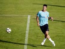 Robin van Persie verletzte sich gegen Frankreich am Knie