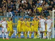 EM-Qualifikation: Erfolg für die Ukraine