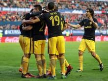 Atlético Madrid hält den Anschluss an die Spitzenränge