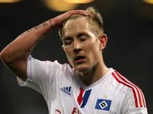 Lewis Holtby will auch im Abschiedsfall beim HSV bleiben