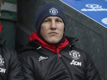 Bastian Schweinsteiger steht verletzungsbedingt nicht im Kader der Red Devils