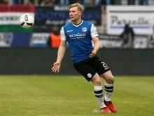 Andreas Voglsammer bleibt der Arminia treu