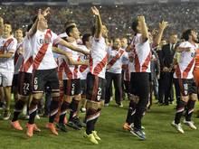 Zum ersten Mal: River Plate gewinnt Copa Sudamericana