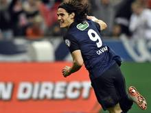 Edinson Cavani erzielte den goldenen Treffer für Paris