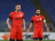 Galatasaray verliert mit Podolski gegen Kasımpaşa