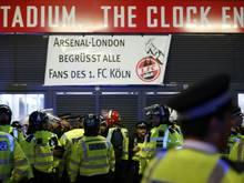 Arsenal-Spiel: Köln muss 60.000 Euro Strafe zahlen