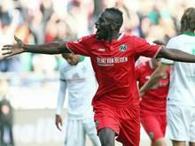 Salif Sane erzielte den Siegtreffer für Hannover
