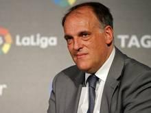 FC Barcelona zeigt Liga-Präsident Javier Tebas an