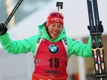 Dahlmeier wird Dritte bei den Langlauf-Meisterschaften