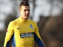 Florian Fromlowitz hält sich bei Fortuna Düsseldorf fit
