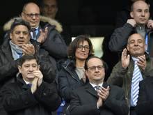 Francois Hollande verfolgte das Spiel im Stade de France