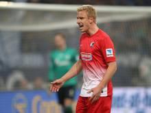 Mike Hanke konnte beim SC Freiburg nicht überzeugen