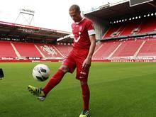Luc Castaignos spielt in der Zukunft für Eintracht Frankfurt