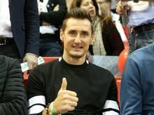 DFB-Rekordtorschütze Miroslav Klose wird ausgezeichnet
