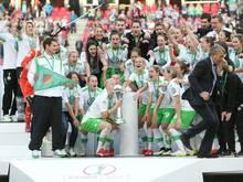 Wolfsburg geht als Titelverteidiger in das Finale