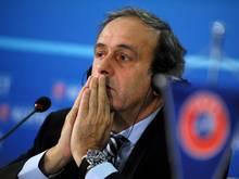 Platini kann auf die Unterstützung der UEFA setzen