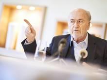 Sepp Blatter fährt zur WM nach Russland