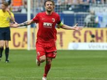 Daniel Baier bleibt weiterhin Augsburger
