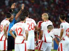 Tunesier protestierten gegen Schiedsrichterentscheidung