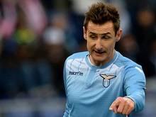 Miroslav Kloses Lazio Rom gewinnt gegen Chievo Verona