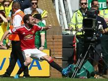Juan Mata erzielte das Tor des Tages