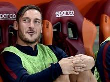 Karriereende: Francesco Totti will sich noch nicht festlegen