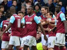 West Ham springt auf Platz 5