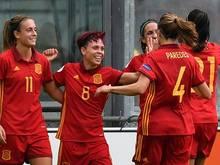 Spaniens Frauen starteten erfolgreich in die EM 2017