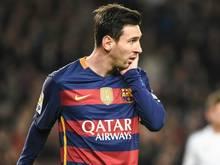 Lionel Messi muss zwei Tage mit dem Training aussetzen