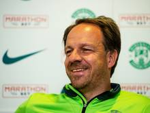 Erfreut über den Erfolg gegen Hertha: Alexander Zorniger