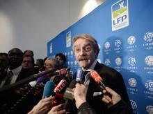 LFP-Präsident Frederic Thiriez