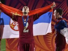 Begeisternder Empfang für serbischen Nachwuchs