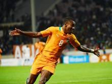 Salomon Kalou trifft für Elfenbeinküste gegen Angola