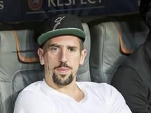 Weiter in Zivil: Ribéry verpasst auch das Rückspiel