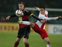 Nullnummer der deutschen U20 gegen Polen