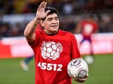 Diego Maradona soll die Ehrenbürgerschaft am 5. Juli erhalten