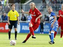 Miedema (l.) sorgt für den 2:0-Endstand für die Bayern