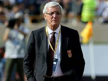 Marcello Lippi bleibt bis 2019 Trainer von China