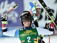 Lara Gut gewann mit deutlichem Vorsprung