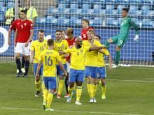 Schweden gelang in Oslo spät der Ausgleich