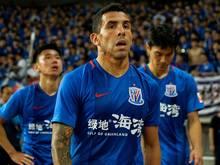 Carlos Tévez spielt seit Jahresbeginn in China