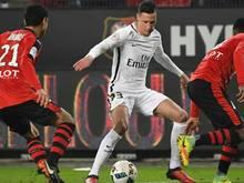 PSG gewinnt mit Julian Draxler 2:0 beim FC Nantes
