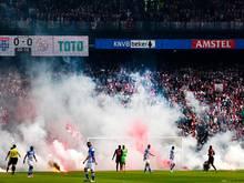 Krawalle beim Pokalfinale zwischen Ajax und Zwolle