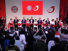 In Shanghai wurde feierlich das Bayern-Büro eröffnet