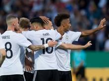 Die U21 gegen Norwegen auf DFB-TV und Facebook