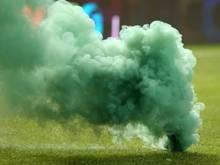Würzburg wird für das Zünden zweier Rauchbomben bestraft